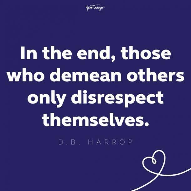 db harrop respect quote