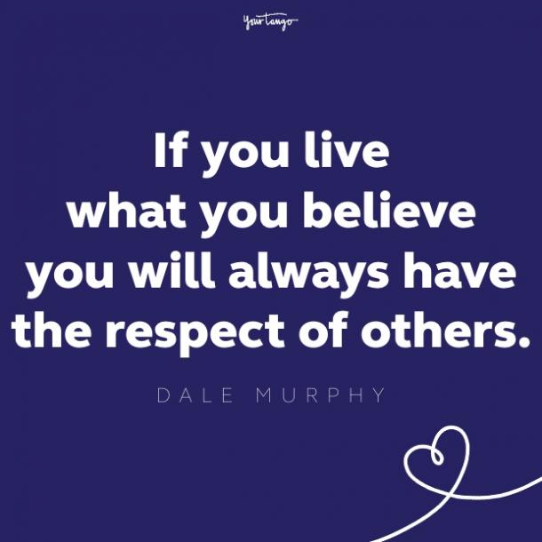dale murphy respect quote