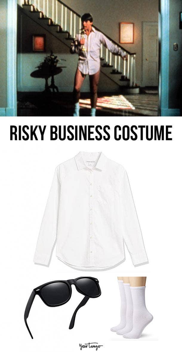 risky business last minute halloween costumes