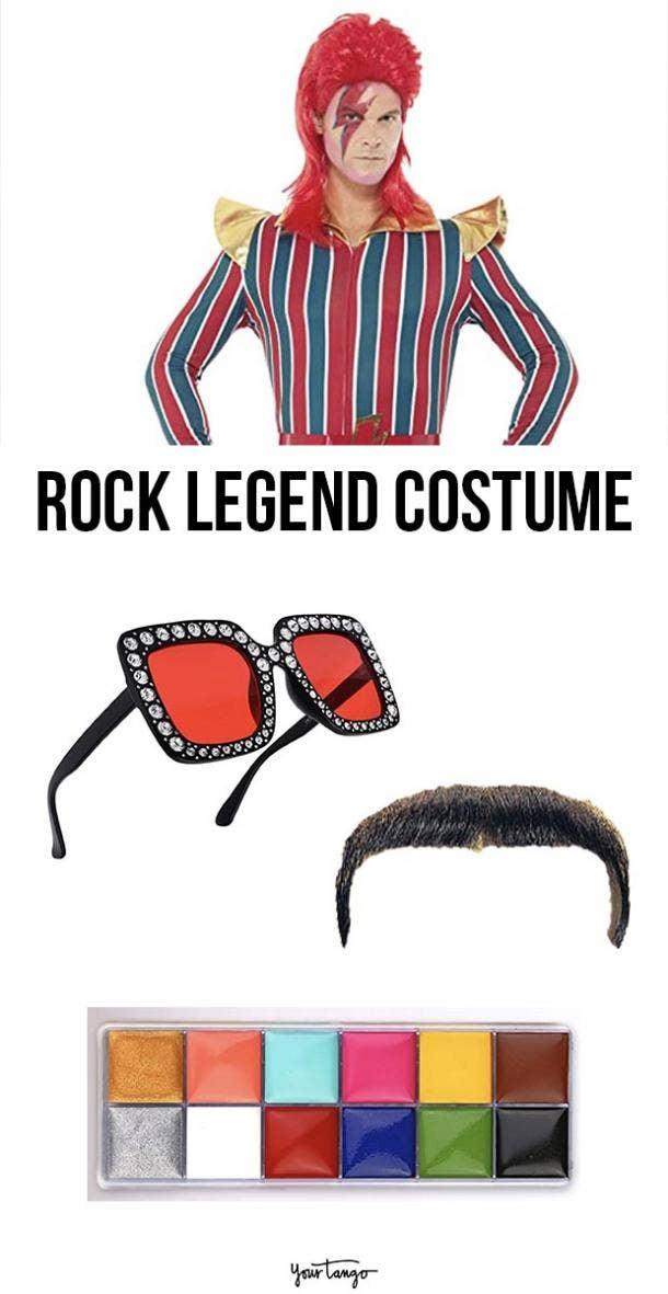 rock legend last minute halloween costumes