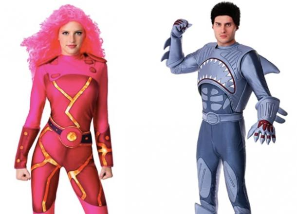 sharkboy and lava girl couples costume