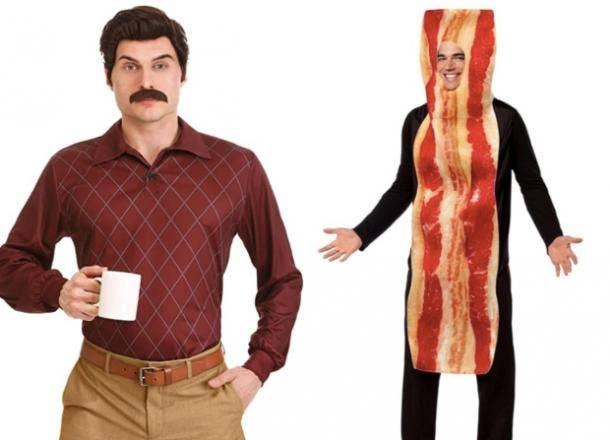 ron swanson costume