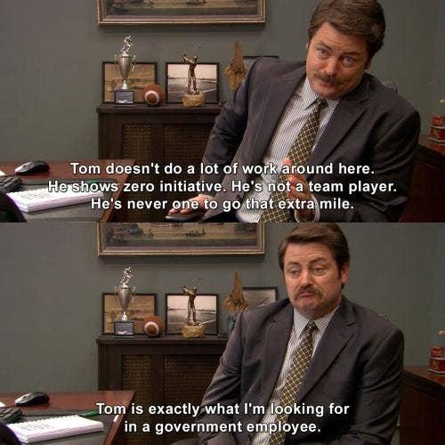 ron swanson quote