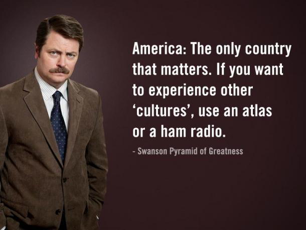 ron swanson america quote