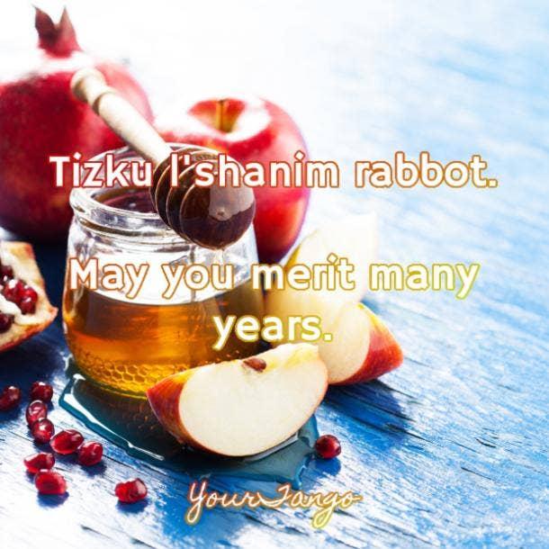 rosh hashanah greetings tizku l'shanim rabbot