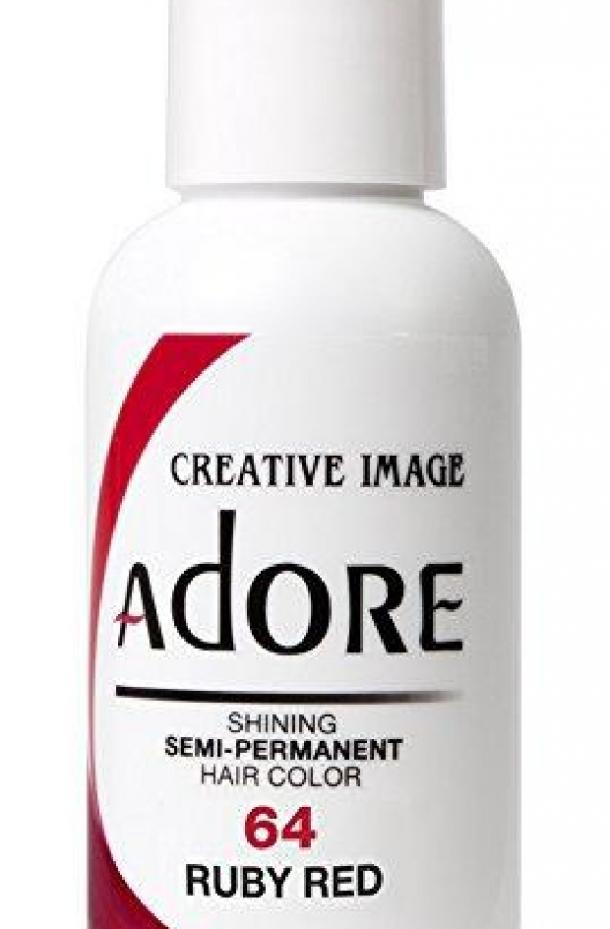 Ruby Red Semi-Permanent Hair Color by Adore
