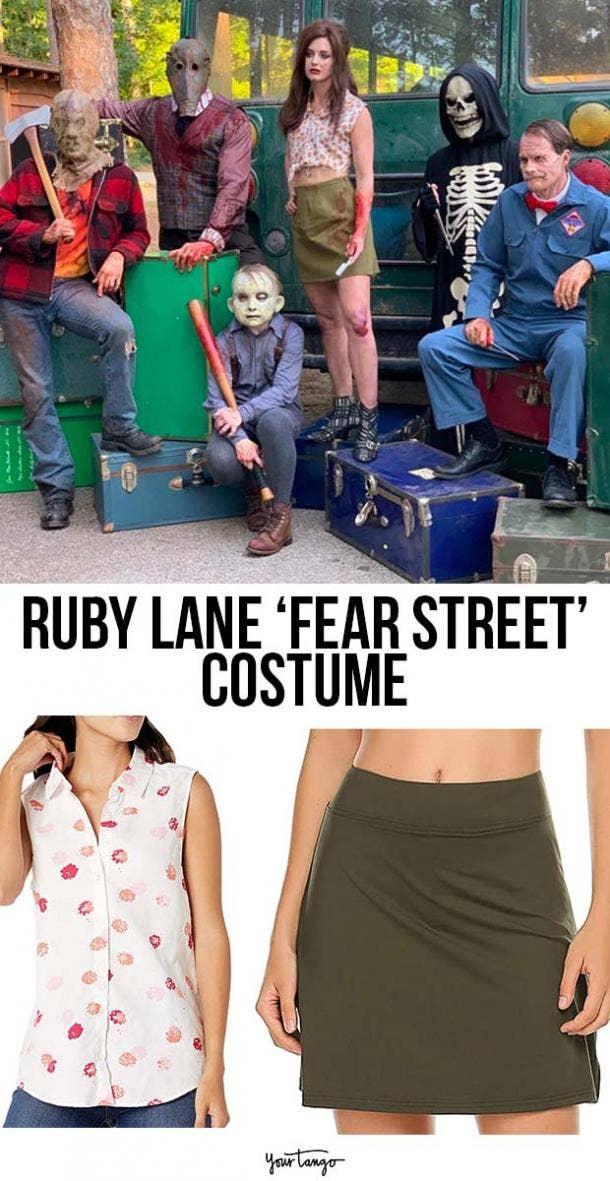Ruby Lane 60's-Themed Fear Street Costume