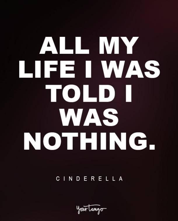 Cinderella Sad Disney Quote