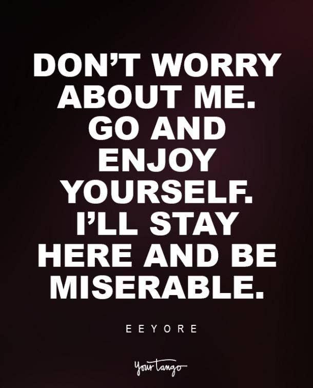 Eeyore Sad Disney Quote