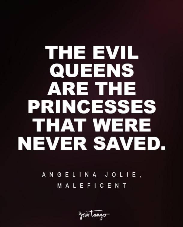 Angelina Jolie, Maleficent Sad Disney Quote