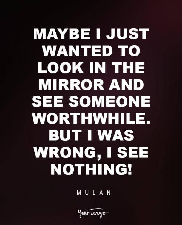 Mulan Sad Disney Quote