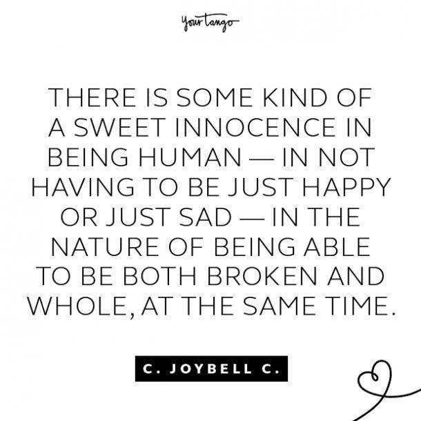 c joybell c sad quotes