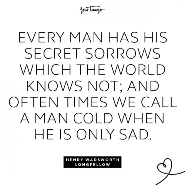 henry wadsworth longfellow sad quotes