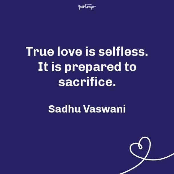 Sadhu Vaswani propose day quote