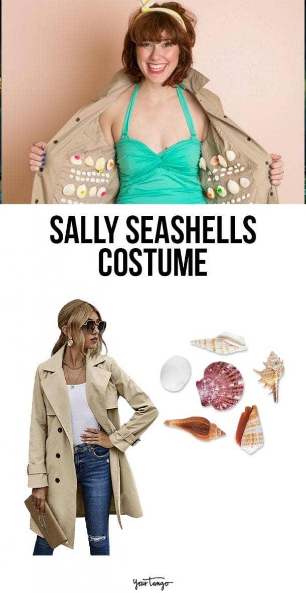 salty seashells last minute halloween costumes