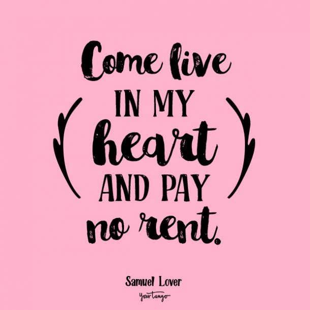 samuel lover romantic quotes