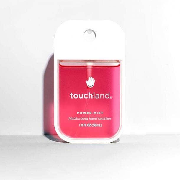 Touchland Power Mist Watermelon Hydrating Hand Sanitizer Spray hand sanitizer for sensitive skin