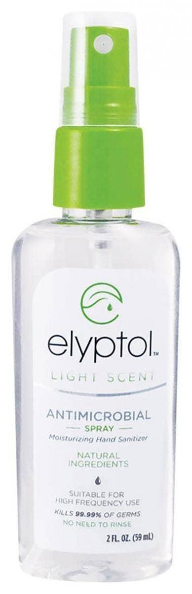 Elyptol Natural Antimicrobial Hand Sanitizer Spray hand sanitizer for sensitive skin