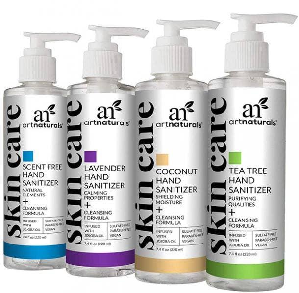 ArtNaturals Hand Sanitizer Gel hand sanitizer for sensitive skin