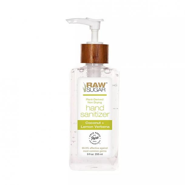 Raw Sugar Coconut + Lemon Verbena Hand Sanitizer hand sanitizer for sensitive skin