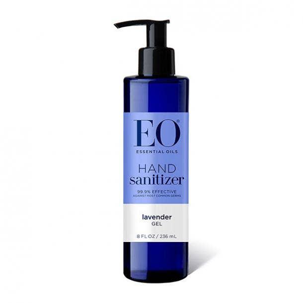 EO Botanical Lavender Hand Sanitizer Gel hand sanitizer for sensitive skin