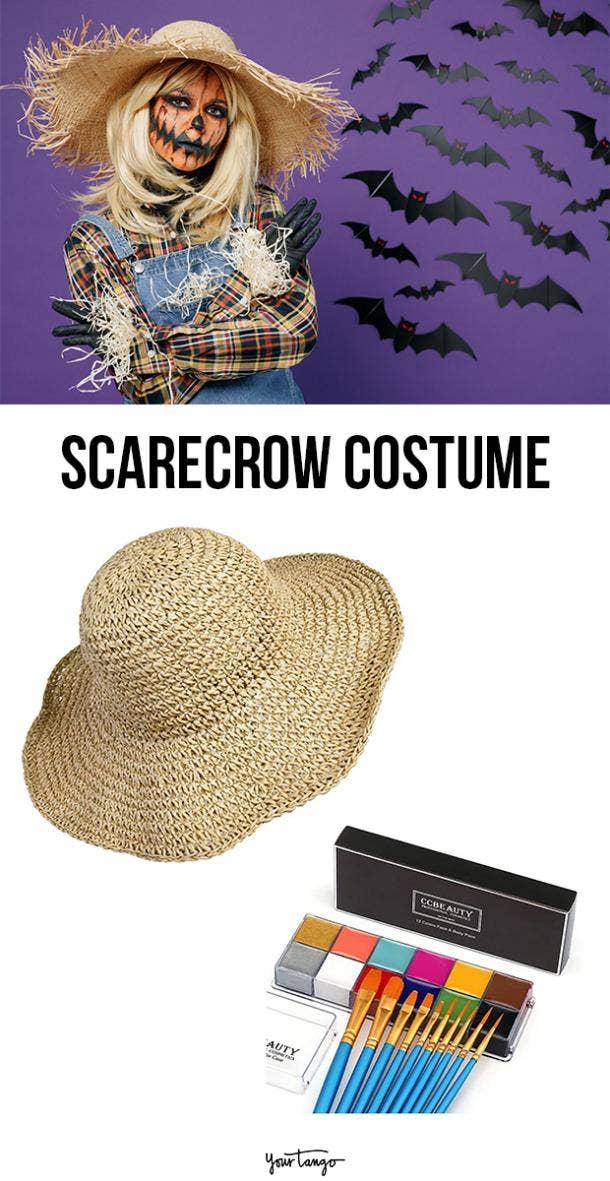 scarecrow last minute halloween costumes