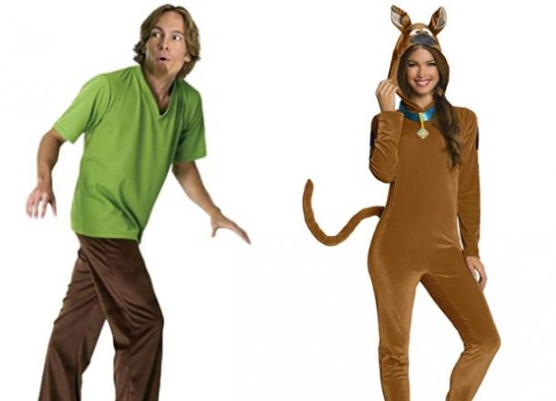 scooby doo and shaggy couples costume