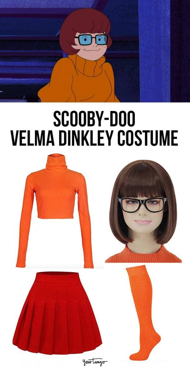 velma scooby doo last minute halloween costumes