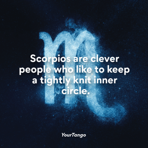 scorpio woman clever people