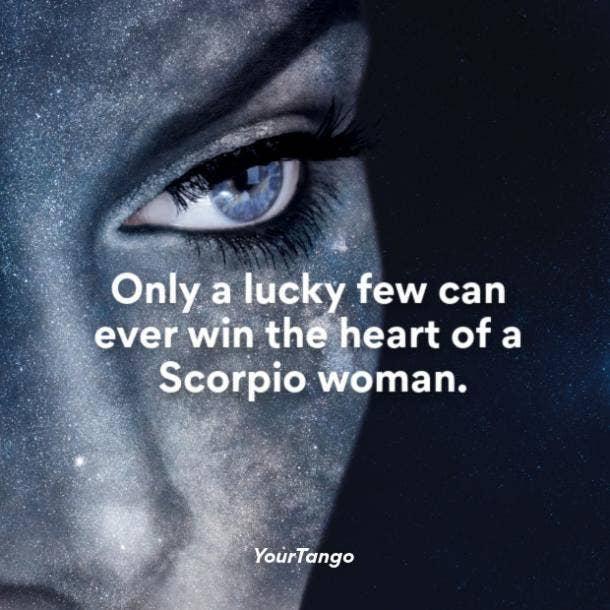 Scorpio woman heart