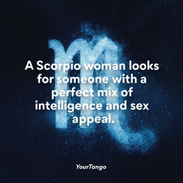 Scorpio woman looks for