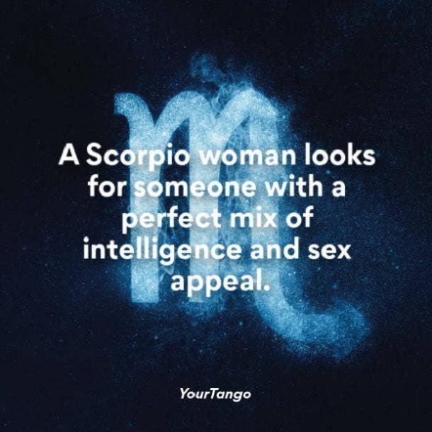 A hurt is scorpio when woman ♥ Scorpio