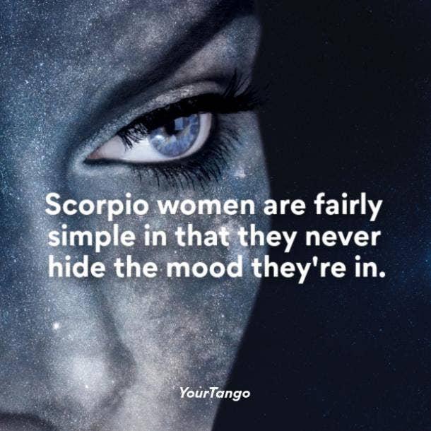 Scorpio woman mood