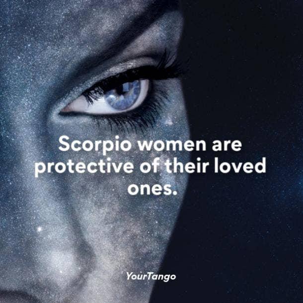 Scorpio woman protective