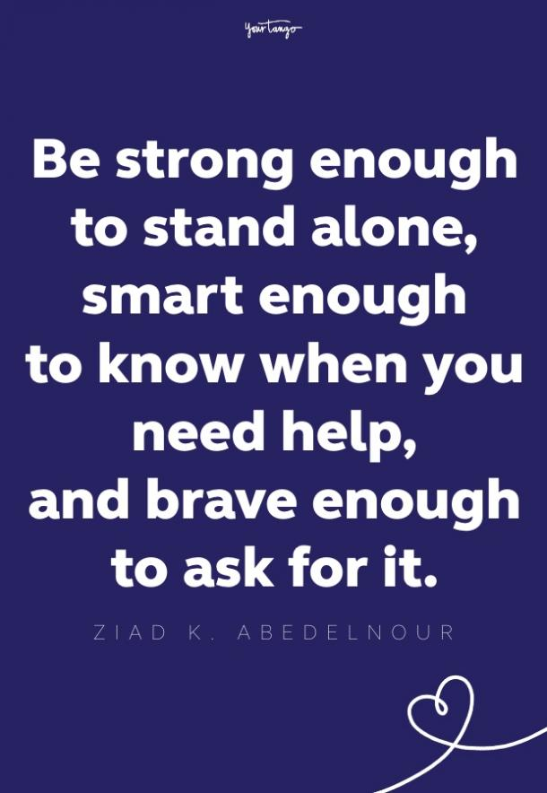 ziad k abedelnour self esteem quote