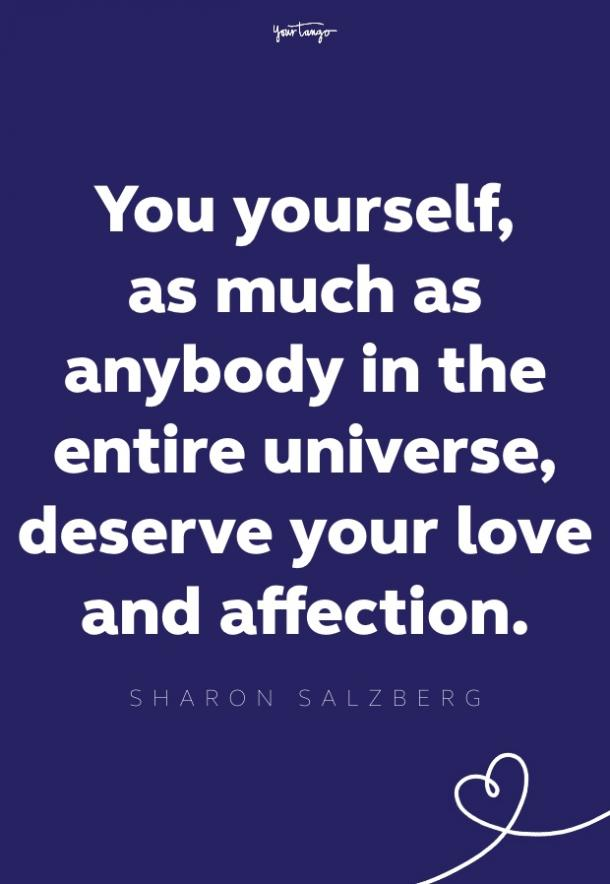 sharon salzberg self esteem quote