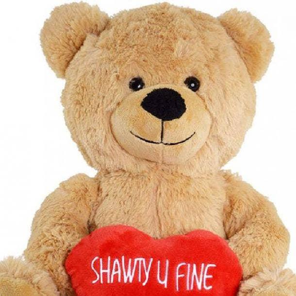 shawty u fine teddy bear