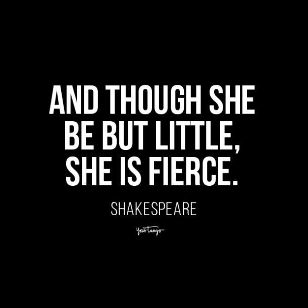 short girl quotes shakespeare