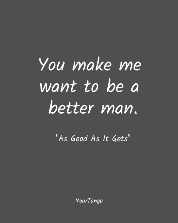 As Good As It Gets short love quote