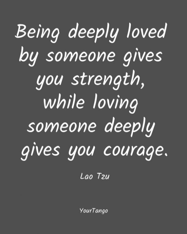 Lao Tzu short love quote