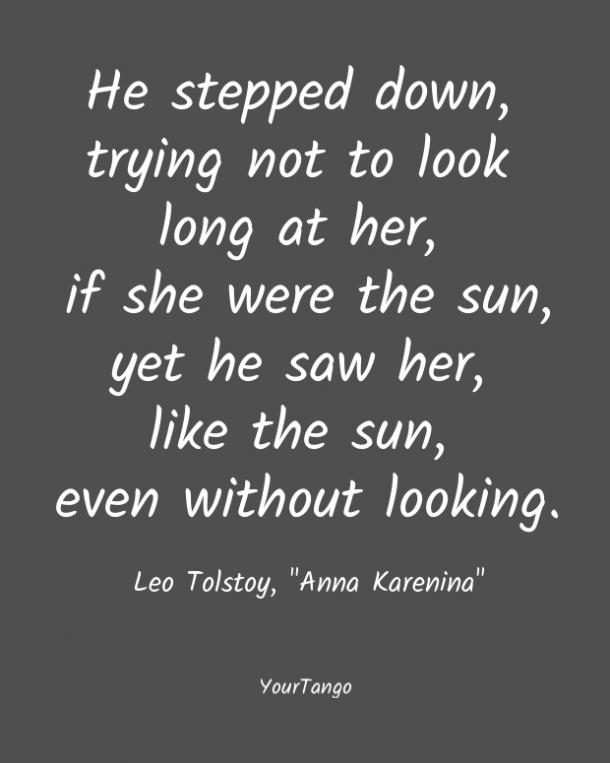 Anna Karenina short love quote