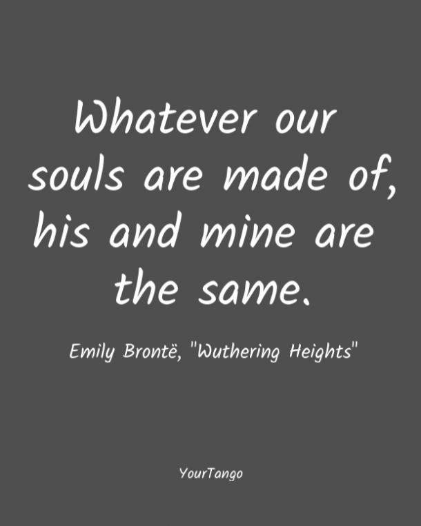 Wuthering Heights short love quote