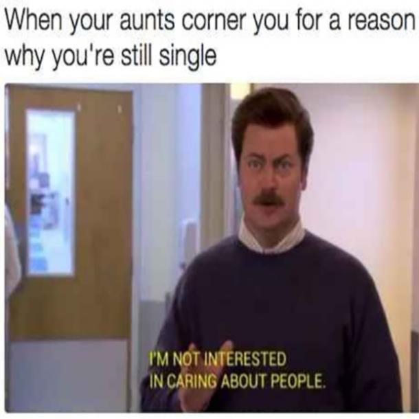 Single funny memes
