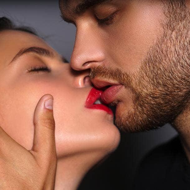 single lip kiss types of kisses guys like