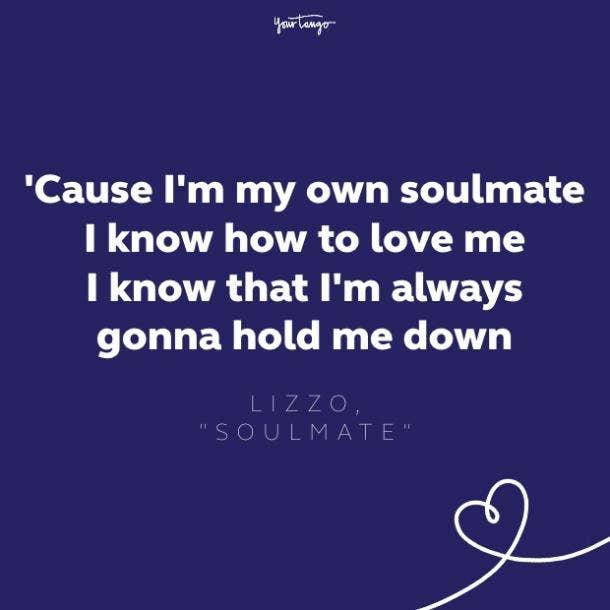 lizzo soulmate lyrics