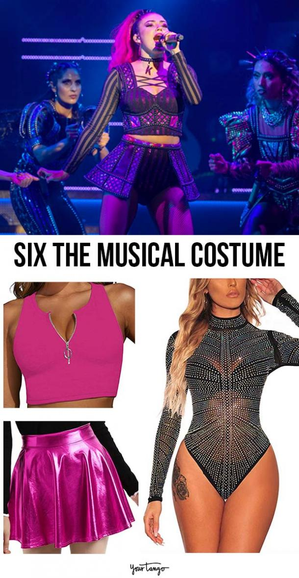 """Katherine Howard """"SIX the Musical"""" Pink Costume Inspiration"""