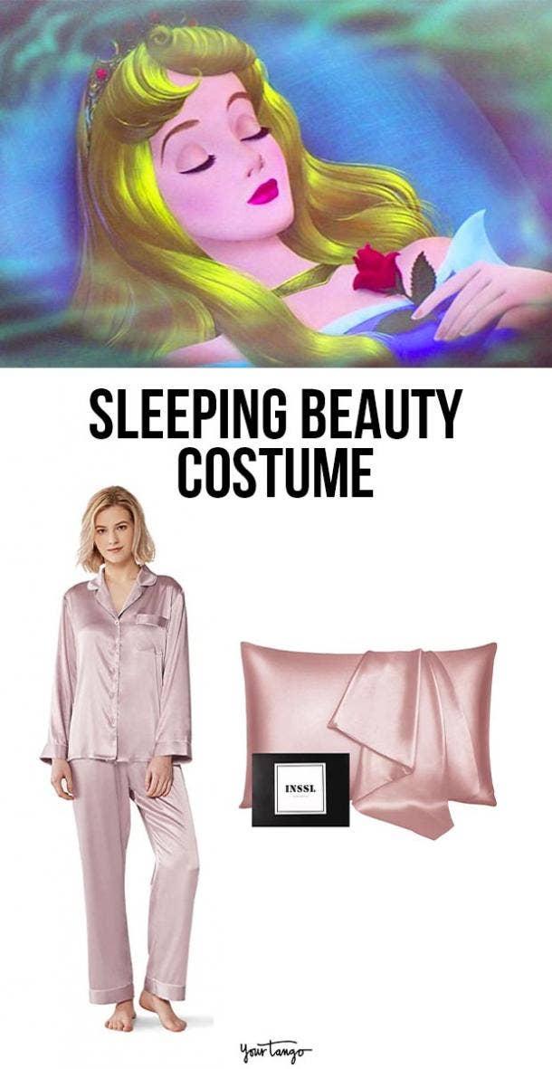 sleeping beauty last minute halloween costumes