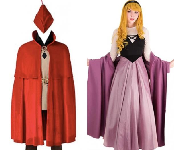 sleeping beauty and prince phillip costume