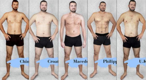 slim male body types
