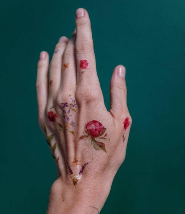flower tattoo ideas for women